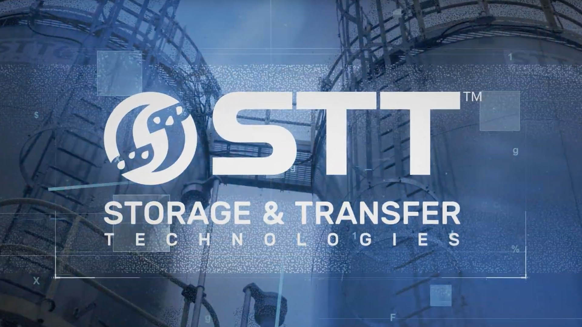 STT logo over background